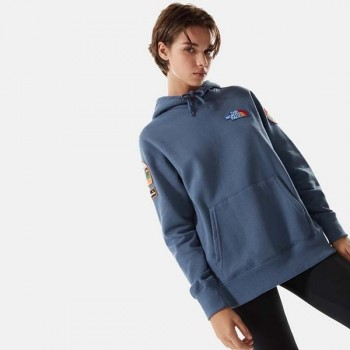 SUDADERA THE NORTH FACE W PATCHES (5A4A-WC4)